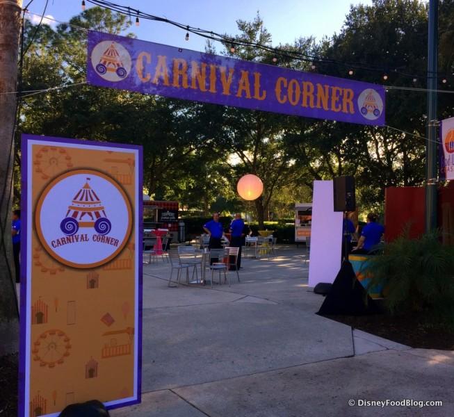 Carnival Corner