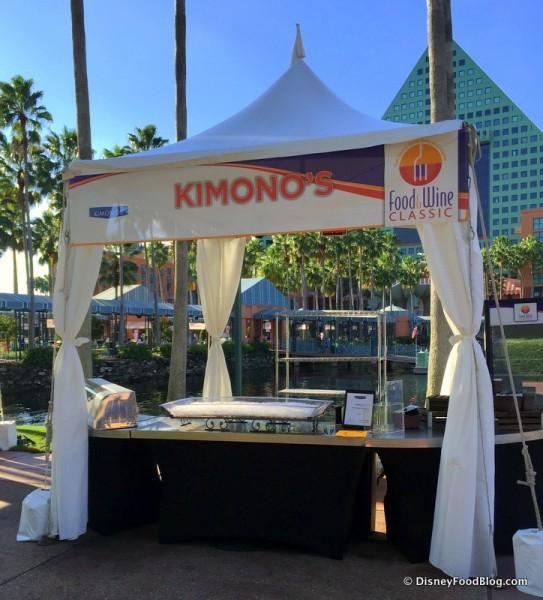 Kimono's Booth