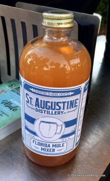St. Augustine Distillery Florida Mule Mixer