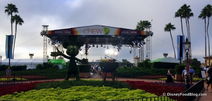 The Chew Taping in Epcot
