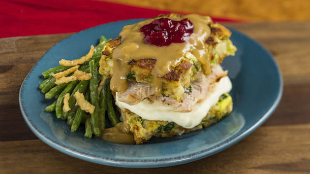 Slow Roasted Turkey at American Holiday Table © Disney