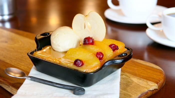 Warm Apple Butter Cake. ©Disney