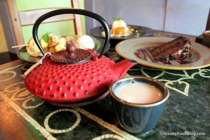 Tea and Desserts -- Yum!
