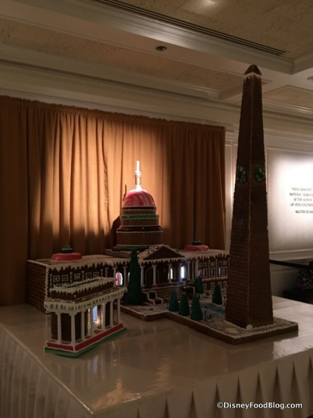 Washington, D.C. Gingerbread Display