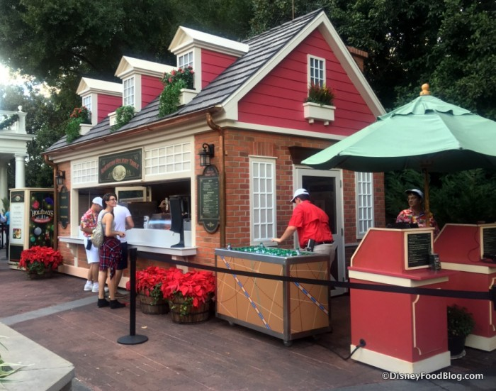 American Holiday Table Booth