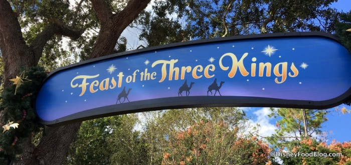 Feast of the Three Kings Sign