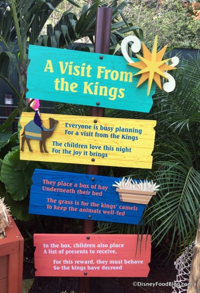 Feast of the Three Kings Booth area