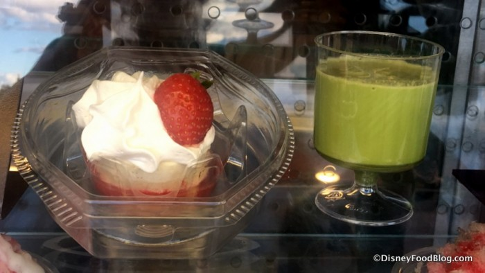 Strawberry Shortcake and Green Tea au Lait