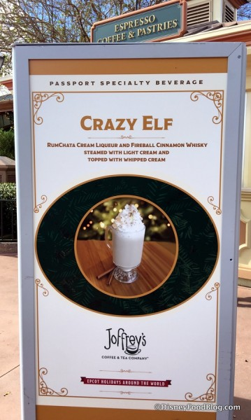 Crazy Elf sign