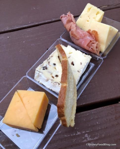 German Artisan Cheese Plate