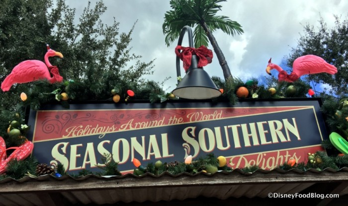Seasonal Southern Delights Sign