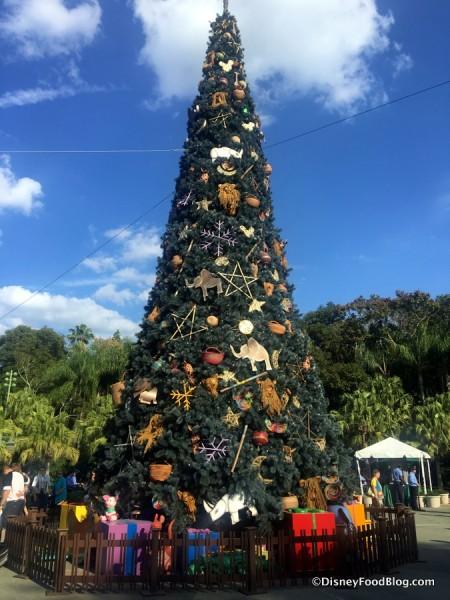 Animal Kingdom Christmas Tree