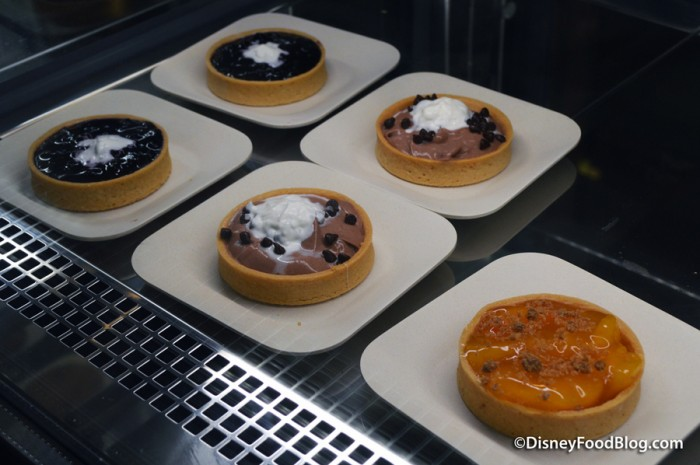 Tarts in Bakery Case