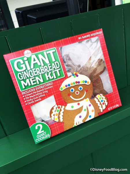 Giant Gingerbread Men Kit