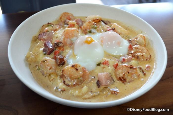 Cajun Grit Bowl with Shrimp