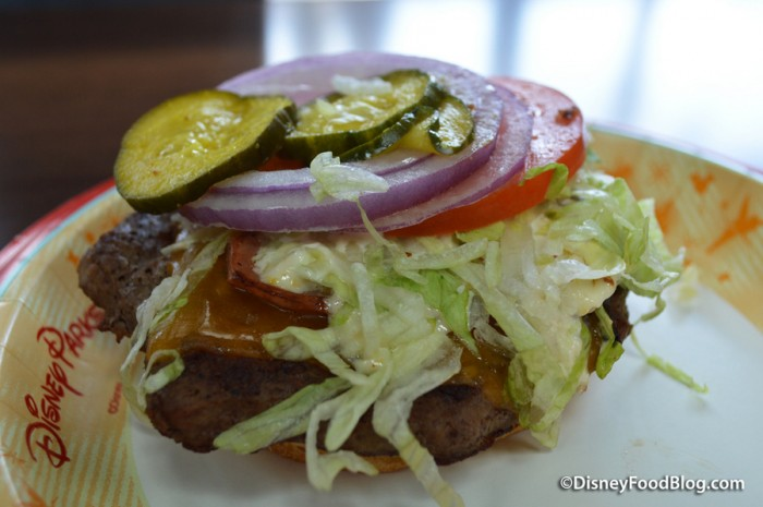 Cajun King Burger
