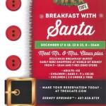 News: Breakfast with Santa at T-Rex Cafe in Disney Springs in December