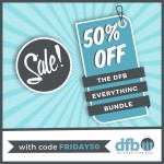 BIGGEST Sale of the Year: 50% Off Our DFB Everything Bundle!