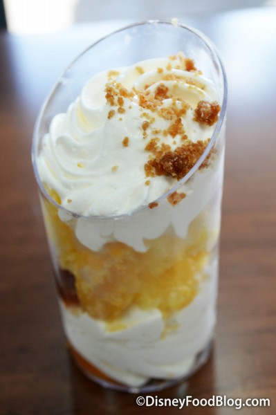 Apple Crumble Dessert Shot
