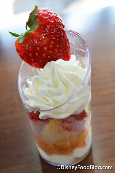 Strawberry Shortcake Dessert Shot