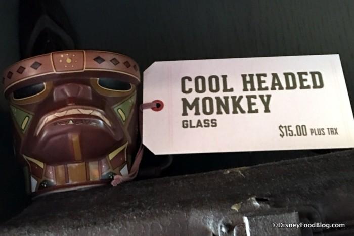 Cool Headed Monkey Glass