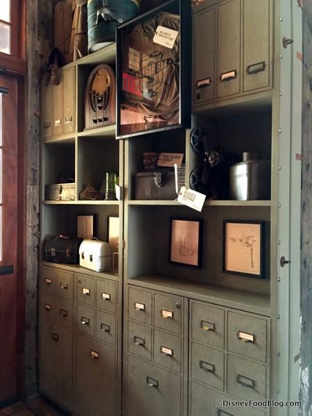 Jock Lindsey's Hangar Bar Display