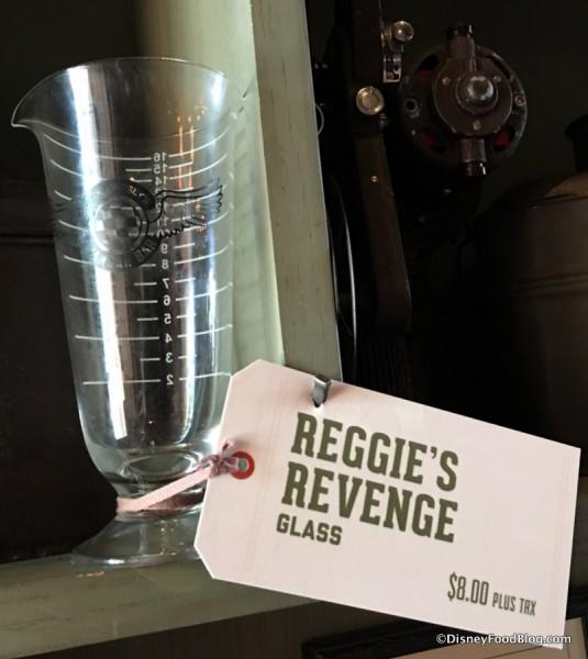 Reggie's Revenge Glass