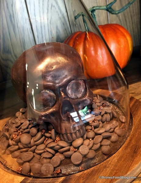 Chocolate Caramel Skull