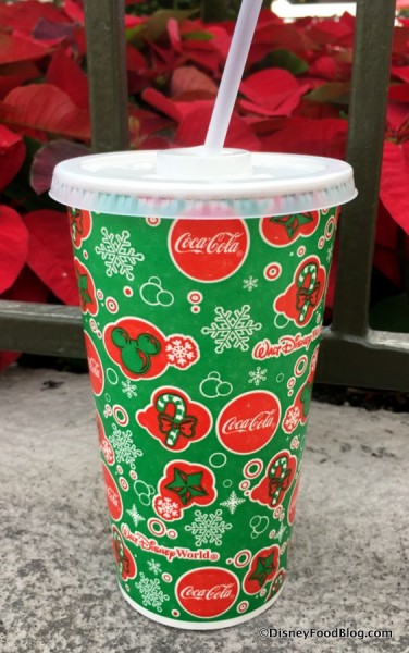 Disney World Counter Service Holiday Cups