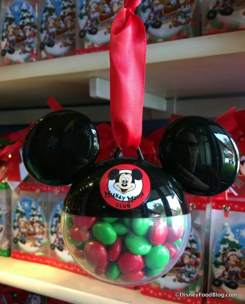 Mickey Ears Candy Ornament