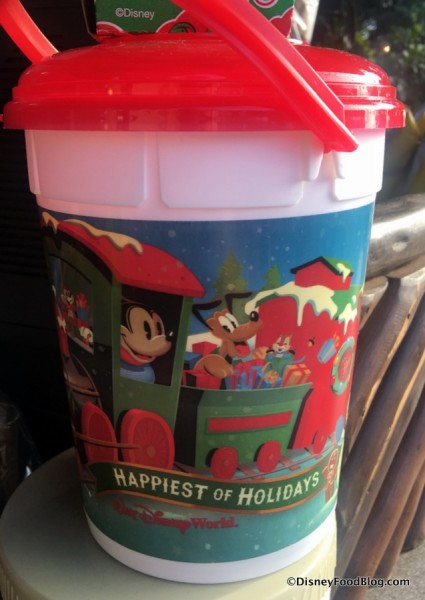 Holiday Refillable Popcorn Bucket