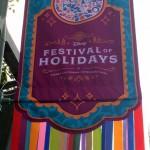 Review: Festival of Holidays Food Booths in Disney California Adventure at Disneyland Resort