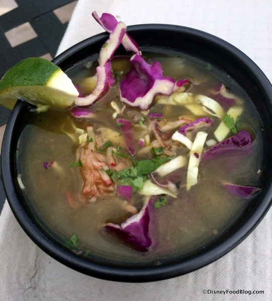Green Chile Pozole with Vegetables