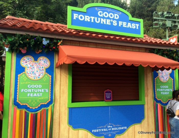 Good Fortune's Feast Booth