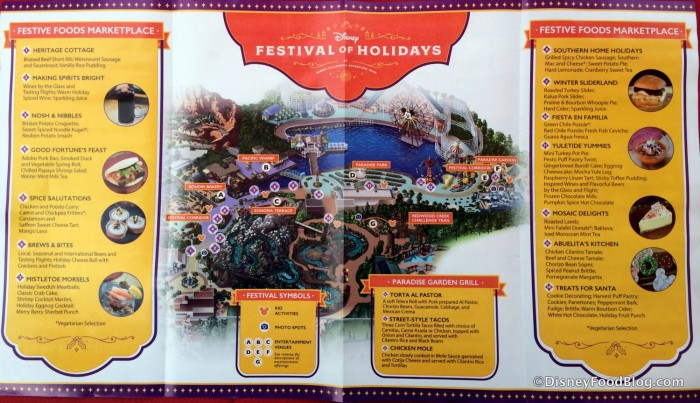 Festival of Holidays Map
