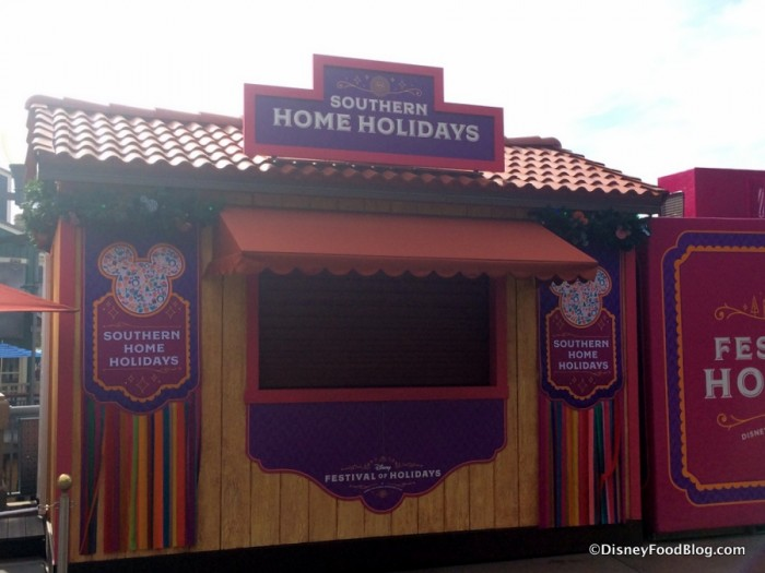 Southern Home Holidays Booth