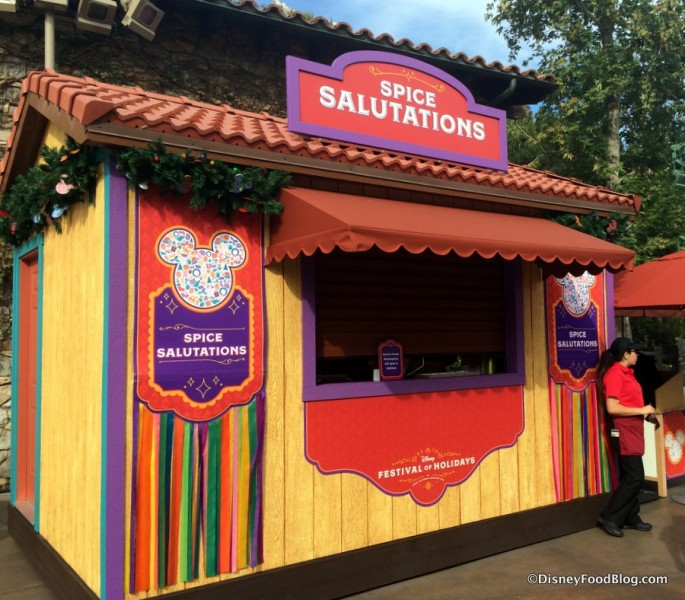 Spice Salutations Booth