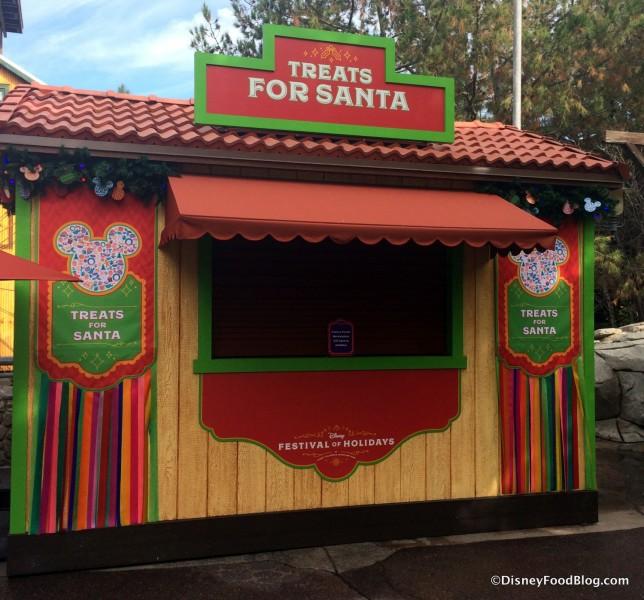 Treats for Santa Booth