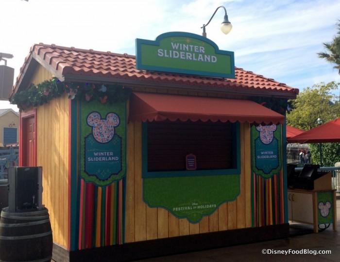 Winter Sliderland Booth