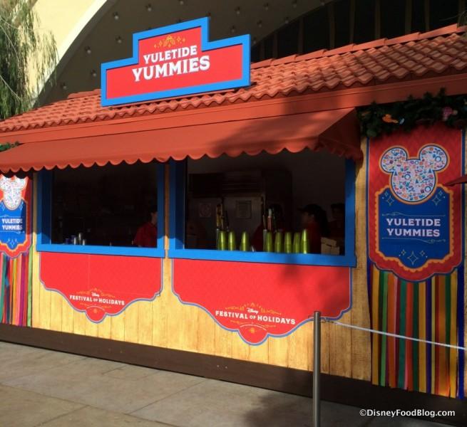 Yuletide Yummies Booth