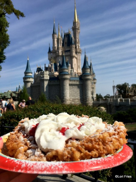 Funnel Cake in Magic Kingdom