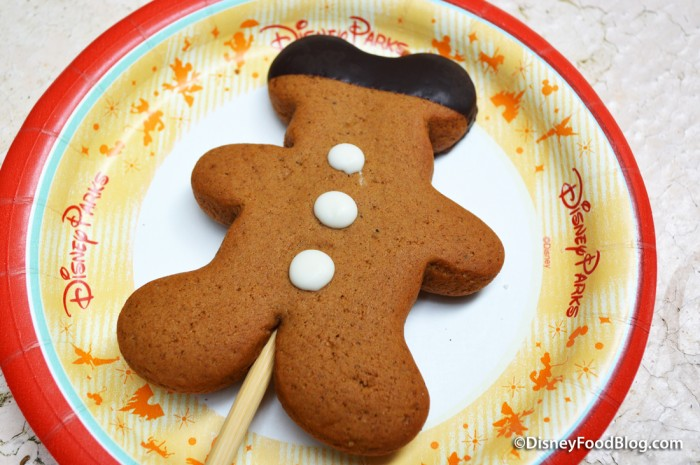 Gingerbread Cookie Pop -- Out of the Bag