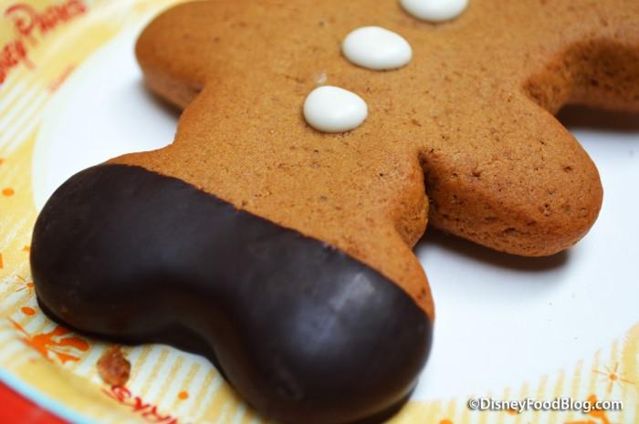 Gingerbread Cookie Pop -- Chocolate Dipped Mickey Ears