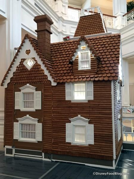 Gingerbread House awaiting final details