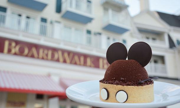 Heritage Mickey Dessert ©Disney