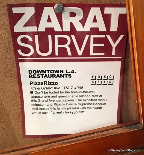 ZaRAT Survey sign