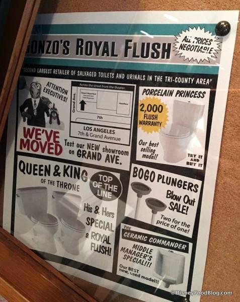 Gonzo's Royal Flush advertisement