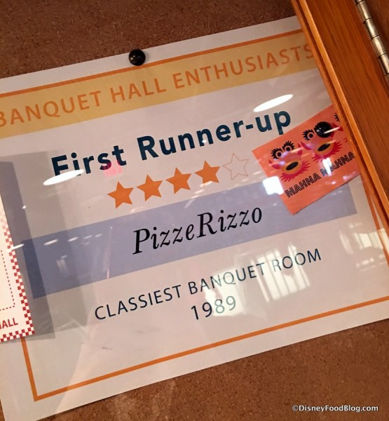 Classiest Banquet Room Award