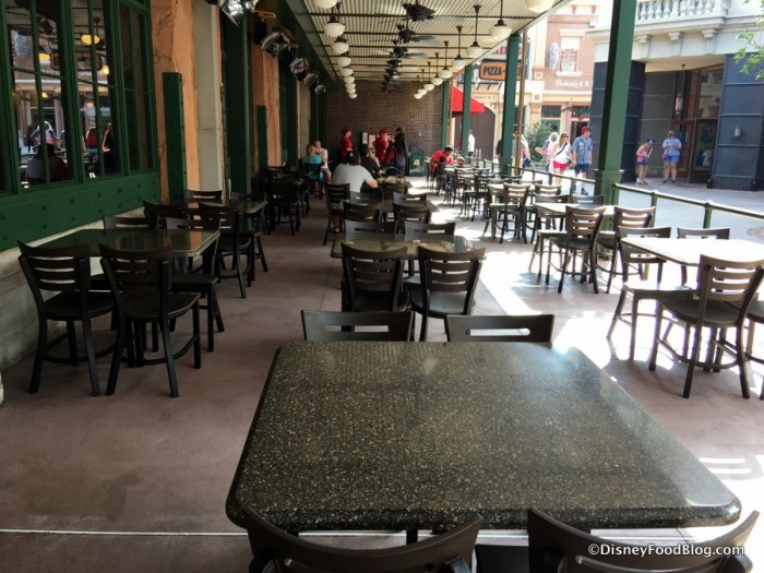 Lower Level Outdoor Seating