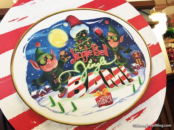 Jingle Bell, Jingle BAM! Sign